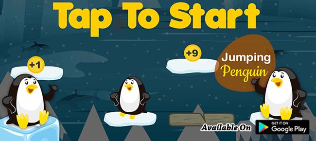 Jumping Penguin