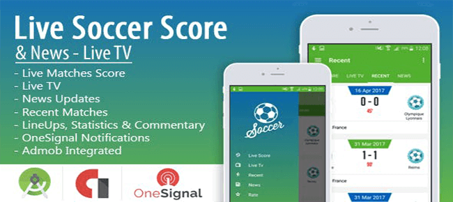Live Soccer Score & News
