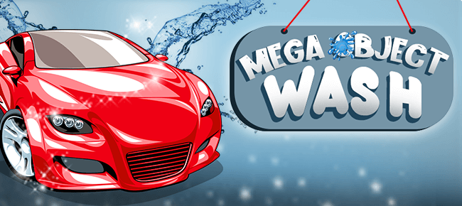 Mega Object Wash game