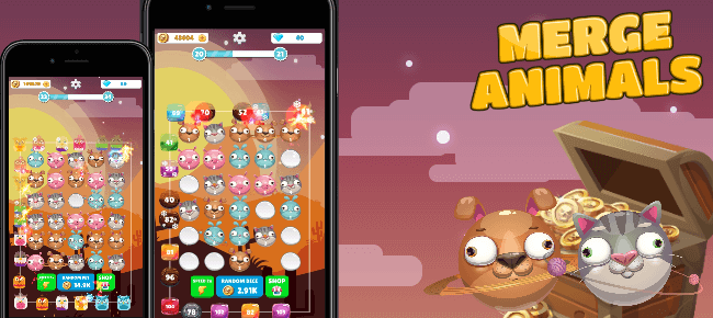 Merge Animals Tower Defense