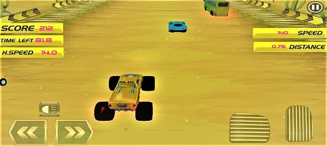 Monster Truck Highway Racer
