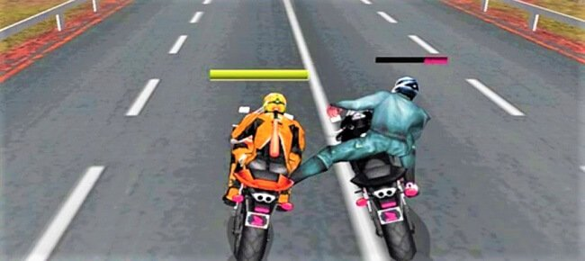 Moto Bike Attack Race game