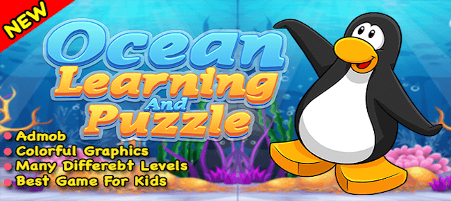 Ocean Learning Match Puzzle