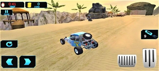 Offroad Kart Beach Stunt