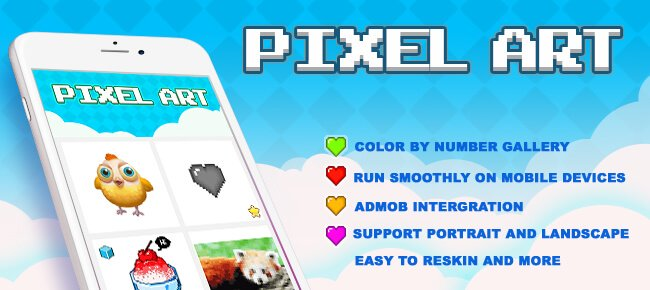 Pixel Art Color By Number (Top Free Game) - Sell My App