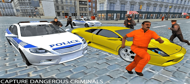 Police Car Gangsters Chase