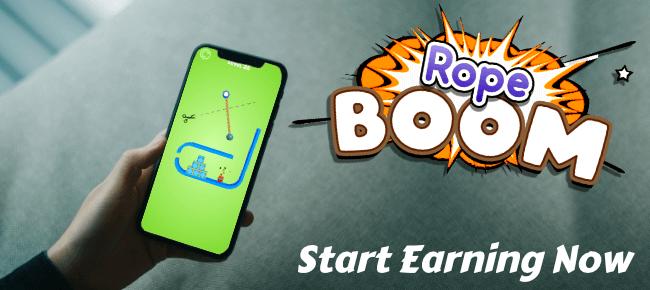Rope Boom