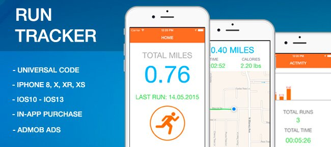 Run Tracker with GPS