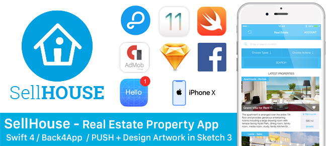 SellHouse Real Estate iOS