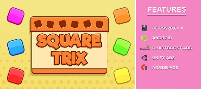 Square Trix Block Puzzle