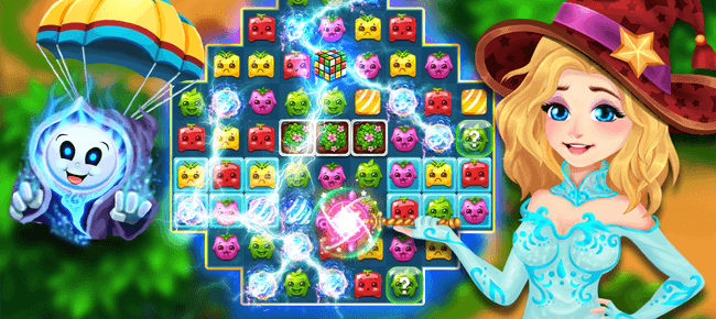 Stellar Witch Fruit Match 3