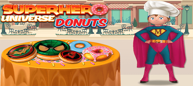 Super Hero Dounts