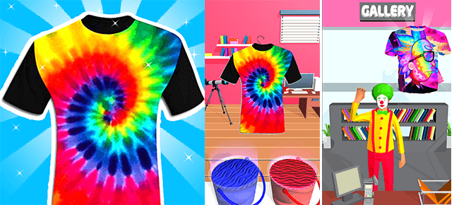 Tie Dying Cloths