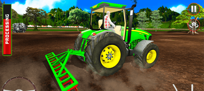 Tractor Trolley Simulator