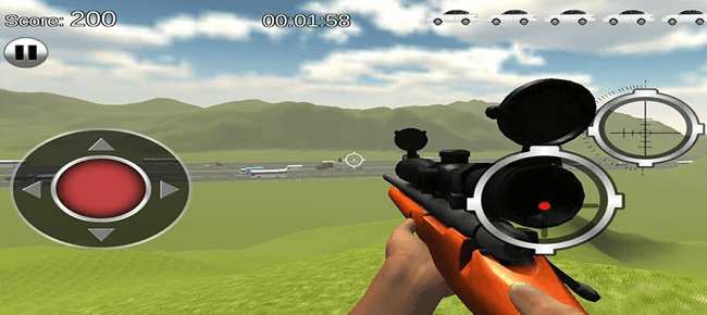Traffic Hunter Sniper Shooter