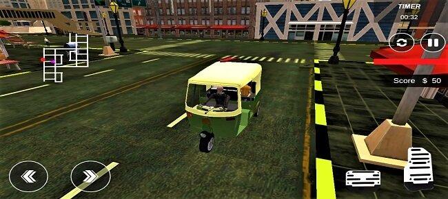 Tuk Tuk Rickshaw Simulator