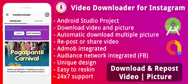 Video Downloader(Instagram)