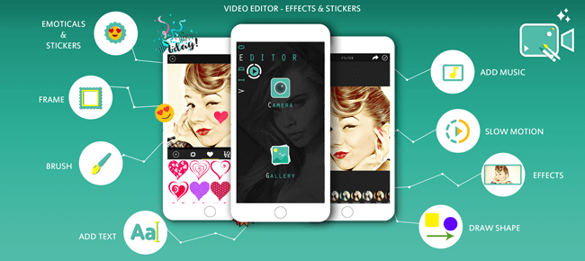 Video Editor Effects & Stickers