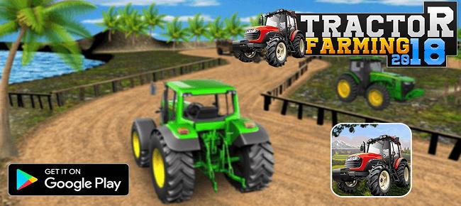 Village Farming Tractor Crew