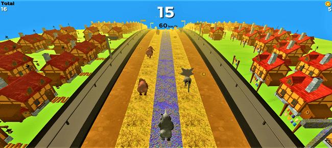 Wild Rhino Run